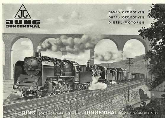 1952 Lokomotivfabrik Jung, Jungenthal bei Kirchen