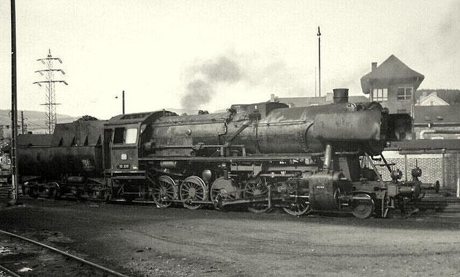 1960: Lok 50 3081 mit Wannentender
