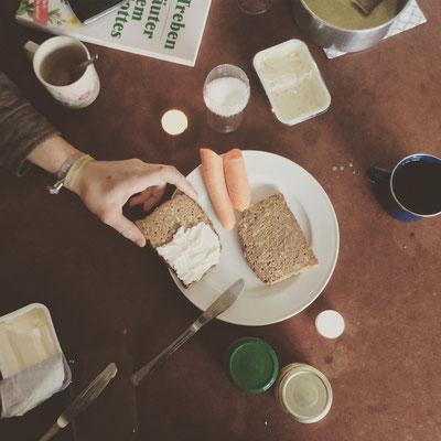 Frühstück für Mininmalisten