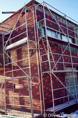 Habitation basse énergie à Bois-de-Villers - Profondeville bardage tuile