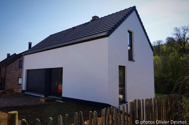 Habitation basse énergie à La Bruyère - Namur