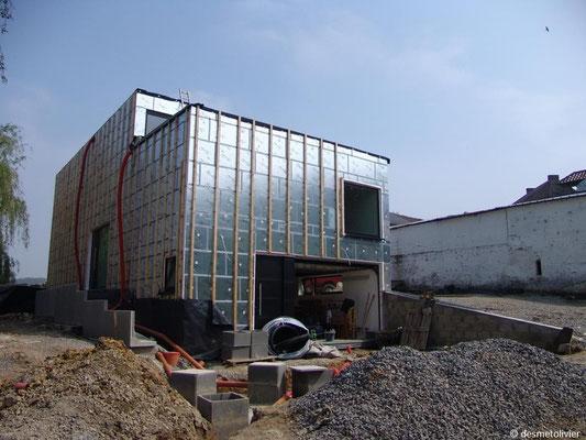 Habitation contemporaine à Basse Energie Mettet