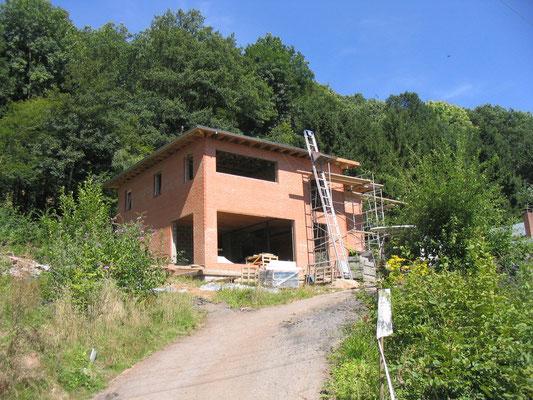 Chantier transformation de l'habitation
