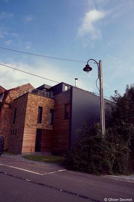 Habitation basse energie à Profondeville