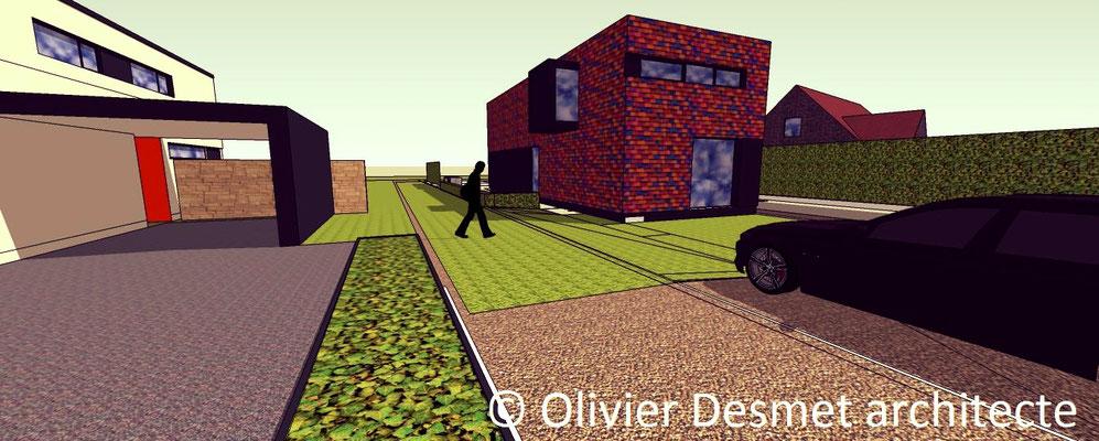 Habitation basse énergie à Bois-de-Villers - Profondeville