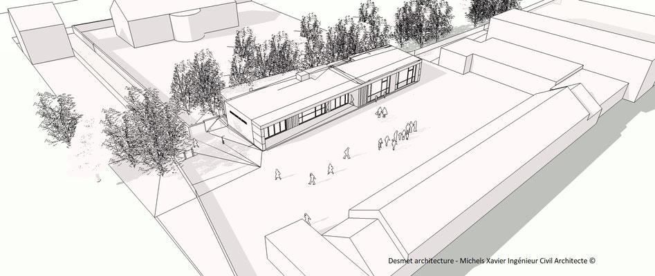Extension Ecole libre de lonzée