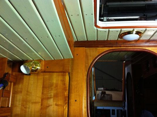 Selber Blick aus der Bugkabine / Stesso sguardo dalla cabina di prua