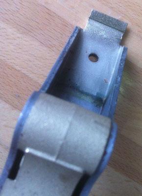 particolare diamantato su puntale di tenuta carta/cartone | 0.2mm