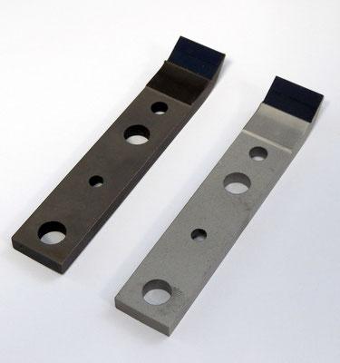 ripristino puntali in gomma uretane SM102 (tutti i modelli) con sabbiatura a microsfere di cristallo