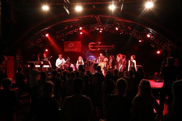 Emergenza Bandwettbewerb, norddeutsches Finale in der Markthalle im Juli 2015 mit der Betsy Miller Band