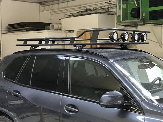 PEPEC - BMW X5 Dachträger mit LED Lightbar