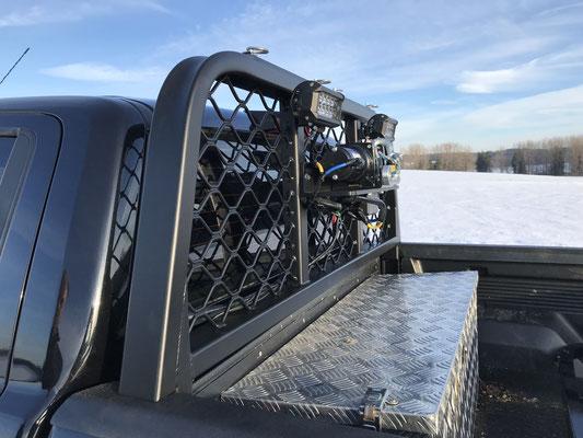 PEPEC - Ford Ranger 2015-2018 Pickup mit Bügel für die originale Ladefläche