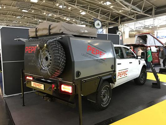 PEPEC - Ford Ranger Ladefläche / Flachbettpritsche mit Absetzbox / Canopy und Camping / Overlander Ausbau