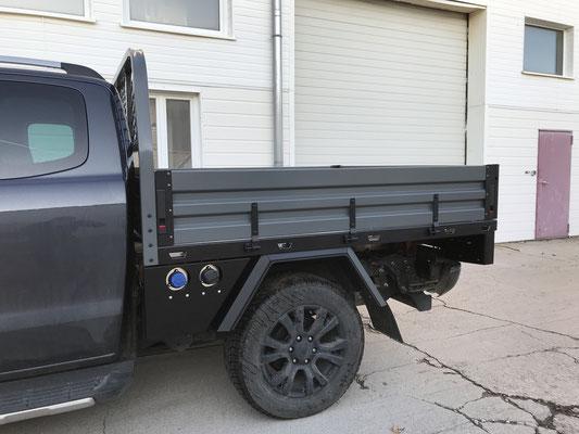 PEPEC - Ford Ranger Pickup Ladefläche Flachbettpritsche  Flachpritsche