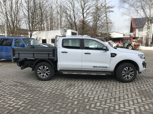 PEPEC - Ford Ranger Wildtrak 2015-2018 mit Generation 1 Ladefläche