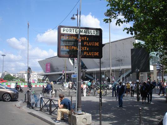 Le Palais des Congrès de Paris