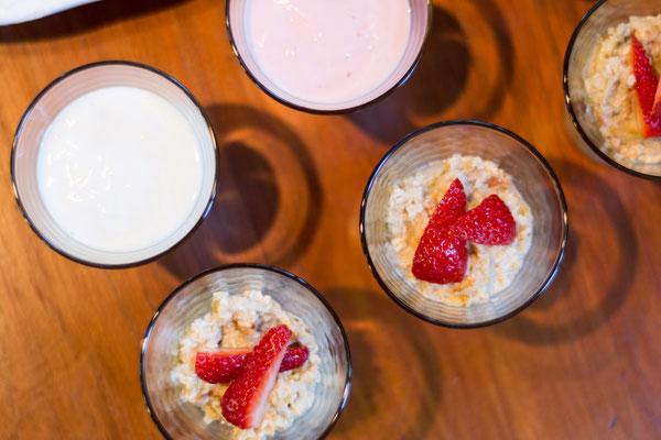 Rich Breakfast Buffet - Detail (Birchermüesli)