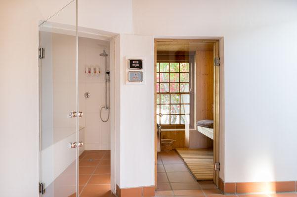 Stoombad en sauna