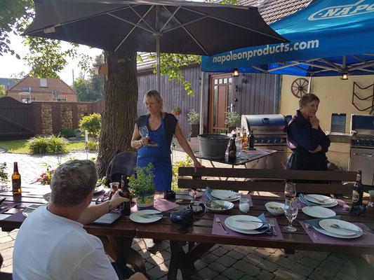 BBQ-Seminar als Familientreffen und Geburtstag