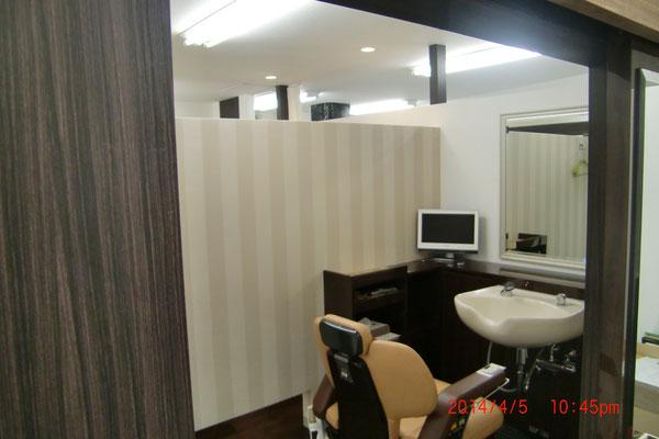 千葉市増毛個室完備