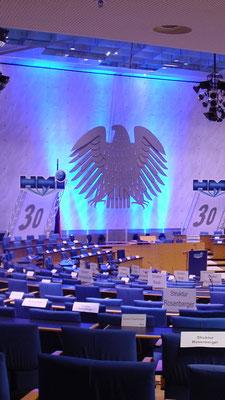 Jahrestagung im alten Bonner Bundestag