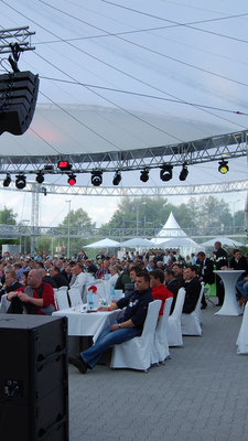 Outdoor Kundenevent Kulisse