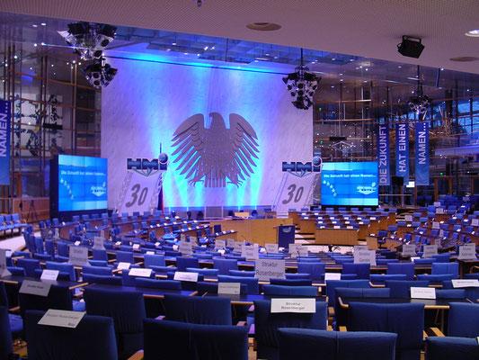Ceventi Event. Große Bühne Bundestag