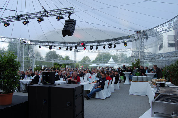 Event Aufbau Outdoor