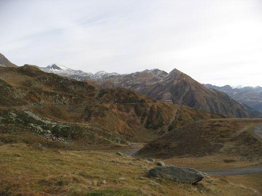 Alpe di Fieud. Blick Richtung Sella