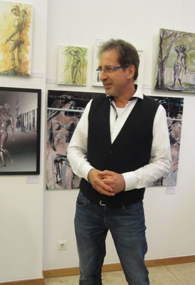 Eröffnung Künstler Georg Grell- Vernissage- Weibliche Enthüllungen-13.09.2017- Galerie Kunst und Grün-Berlin