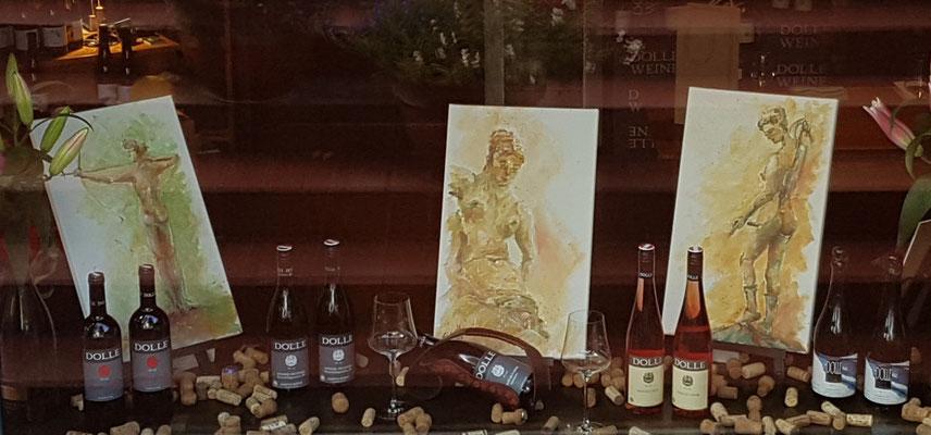 Malerische Körper in der Weinzone Falkensee