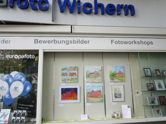 Kunstfenster Lichtenrade 2017- Dieter W. Glathe bei Foto Wichern
