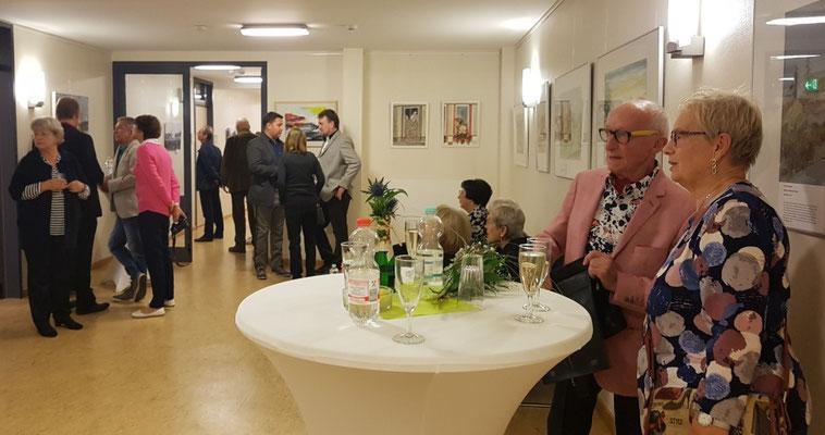 Vernissage 30 Jahre Mauerfall- Rathaus Schönwalde