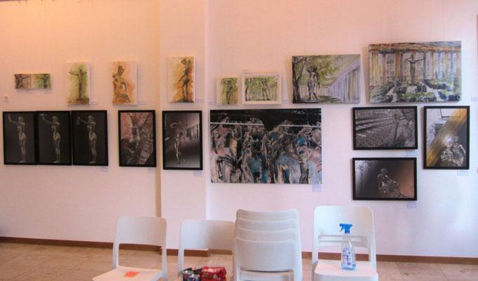 Kunstwerke- Vernissage- Weibliche Enthüllungen-13.09.2017- Galerie Kunst und Grün-Berlin
