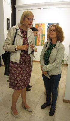 Gäste- Vernissage- Weibliche Enthüllungen-13.09.2017- Galerie Kunst und Grün-Berlin