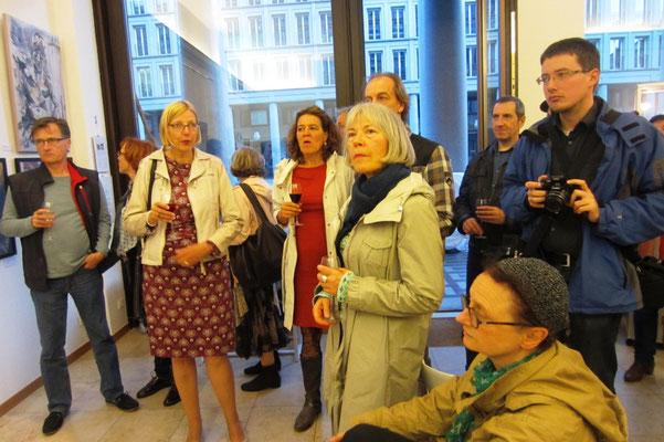 Eröffnung - Vernissage- Weibliche Enthüllungen-13.09.2017- Galerie Kunst und Grün-Berlin