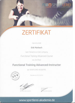 Functional Training Advanced-Instructor