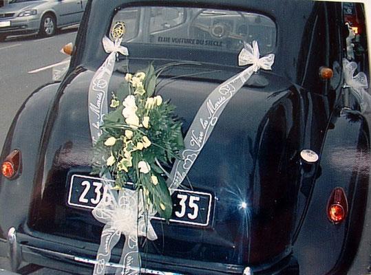 d cor voiture mari s central fleurs fleuristes st malo. Black Bedroom Furniture Sets. Home Design Ideas
