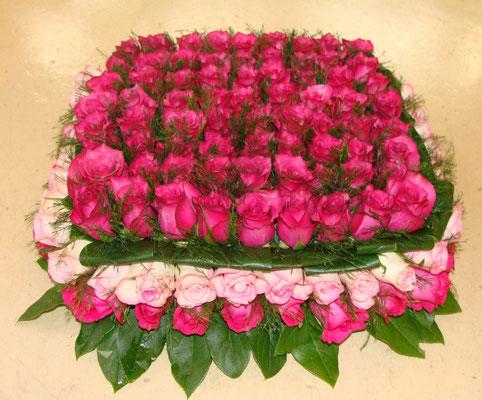 C1-Le Carré de roses roses