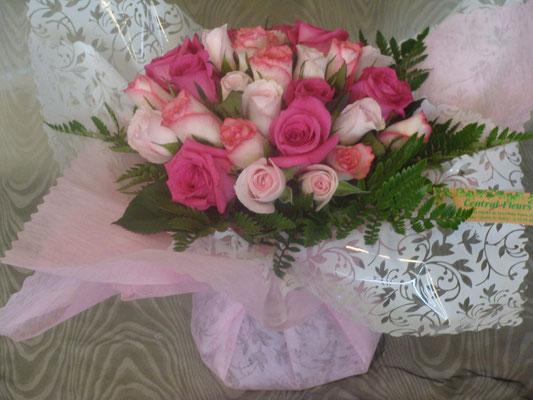 BR1-Camaieu de roses pastelles