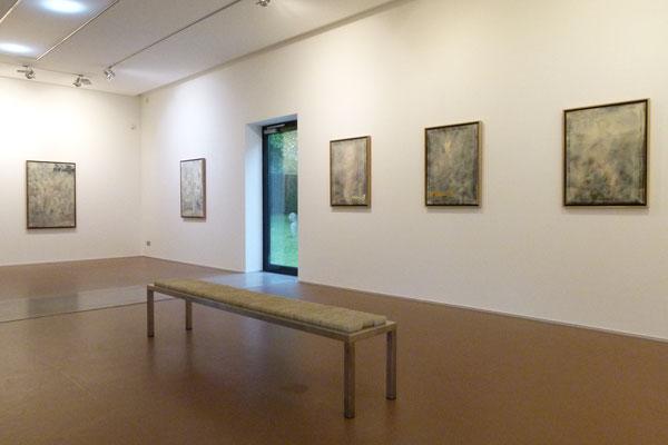 """Ausstellungsansicht """"ALTER MEISTER"""", Attersee Österreich, 2019"""