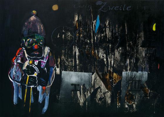 """""""Ewig Zweite"""", 270x190cm, Mischtechnik auf LW, 2010-2013"""
