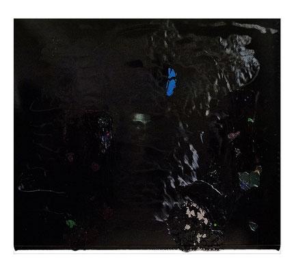 """""""Ophelia"""", 190x160cm, Öl / Bitumen auf LW, 2016"""