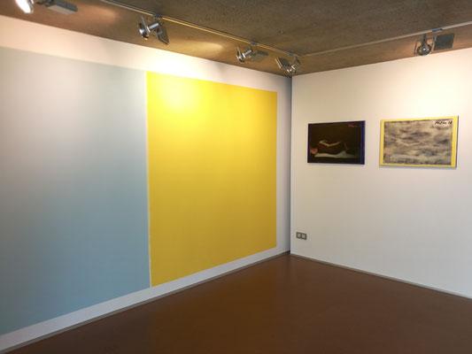 Caravaggios Sleep 5-6, je 75x50 cm Öl, Strukturpaste auf Ink-Jet-Leinwand, 2018 (Privatsammlung Österreich/Salzburg)