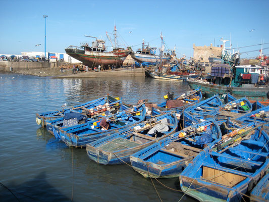 Der Fischerhafen von Essaouira