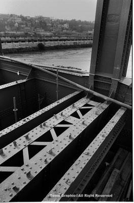 pont Daydé ダイデ橋 とセーヌ川