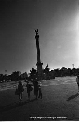 ブダペスト、英雄広場