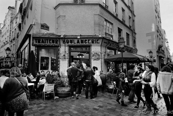 パリ、マレ地区にて その3