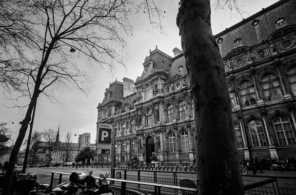hôtel de ville de Paris パリ市庁舎