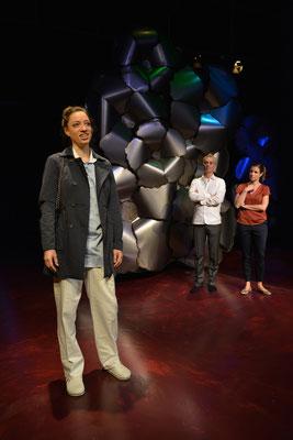 """""""Die Stadt"""" (R.: Hubert Dragaschnig), Theater Kosmos 2015 (mit Bernhard Majcen)"""